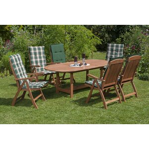 6-Sitzer Gartengarnitur Carl mit Polster von Kampen Living