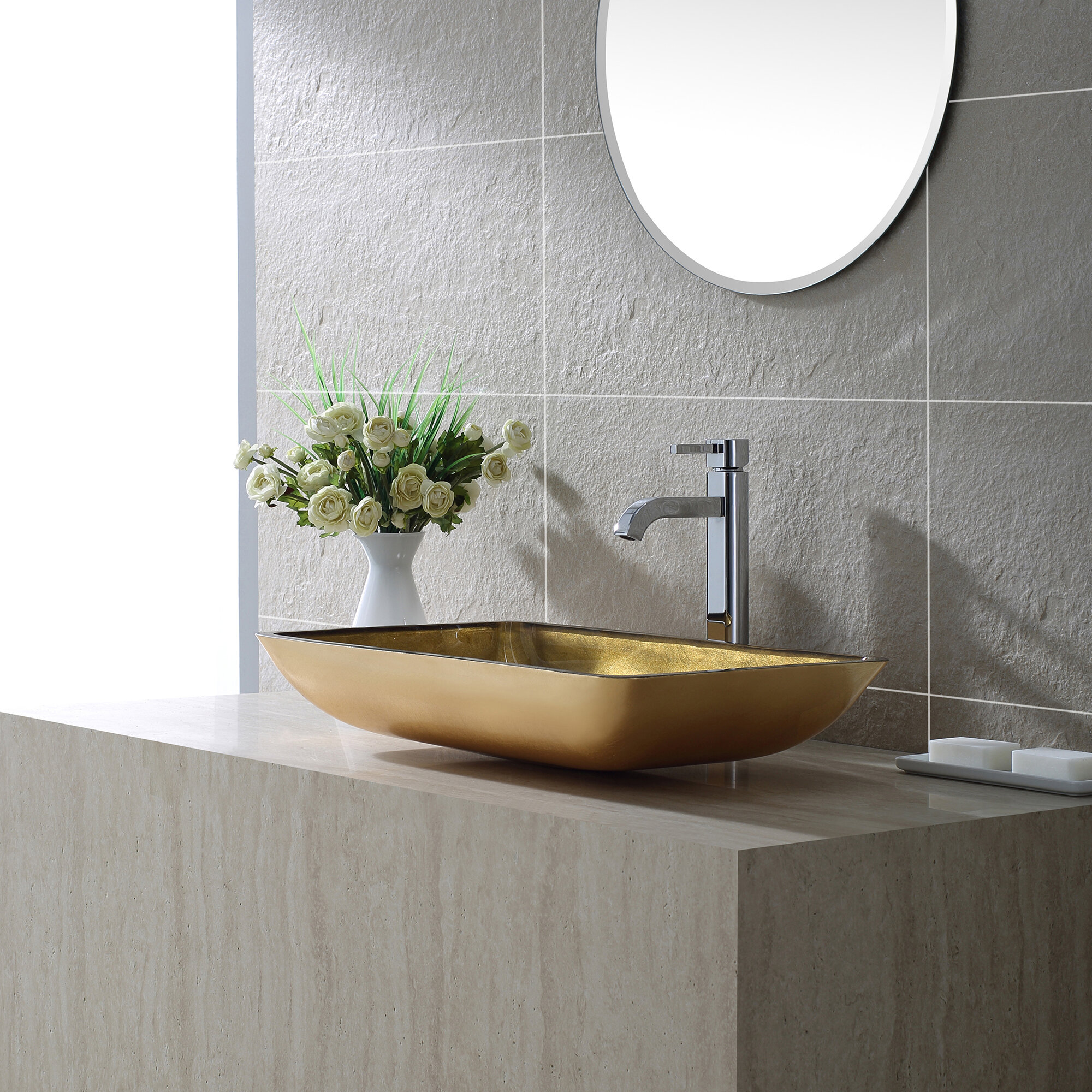 vessel single improvement sink and sinks faucets kraus pdx faucet bathroom handle reviews ramus home wayfair