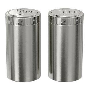 Stainless Steel Salt Pepper Shakers Mills Youll Love Wayfair