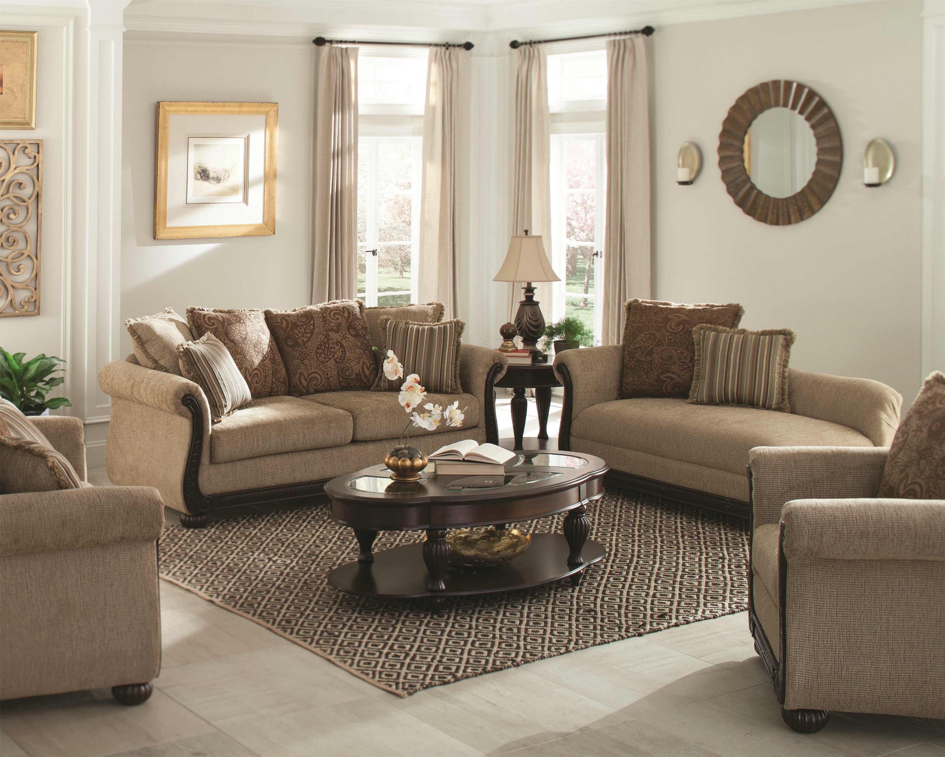 World menagerie desirat configurable living room set wayfair