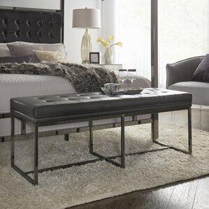 Inge Metal Bedroom Bench   Wayfair