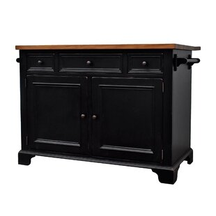 Gerson Drop Leaf Kitchen Island