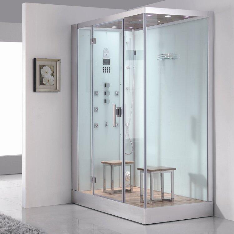 steam shower. Platinum 6 KW Left Steam Shower