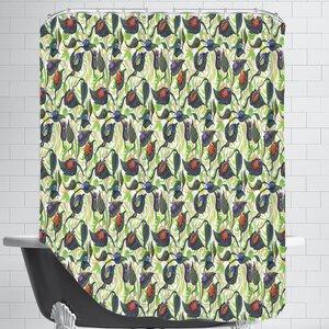 Bugs&Leafs CaraKozik Shower Curtain