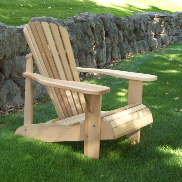 WoodCountry Tu0026L Solid Wood Adirondack Chair | Wayfair