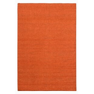 Defiance Handwoven Kilim Orange Rug by Longweave