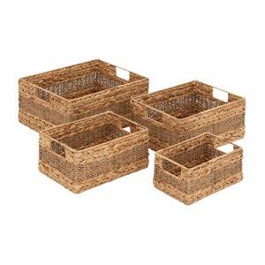 4-tlg. Korb-Set aus Seegras von Haus am Meer