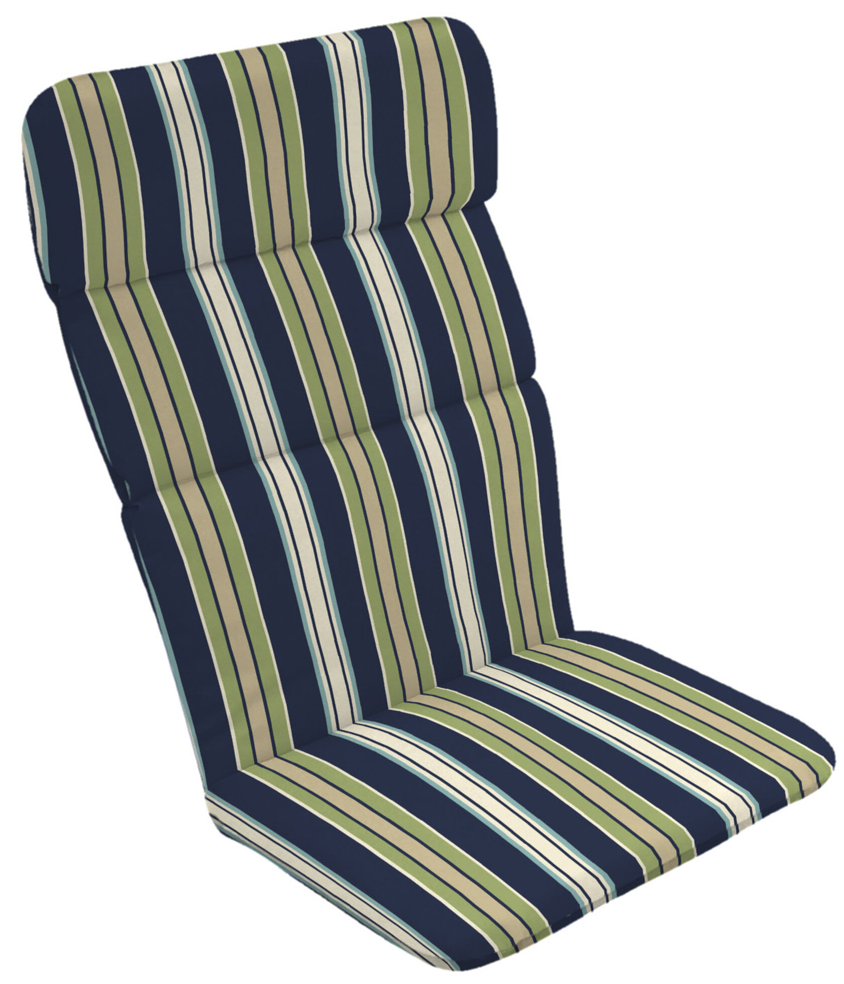 Rosecliff Heights Stripe Outdoor Adirondack Chair Cushion | Wayfair