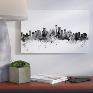 seattle skyline wall art wayfair