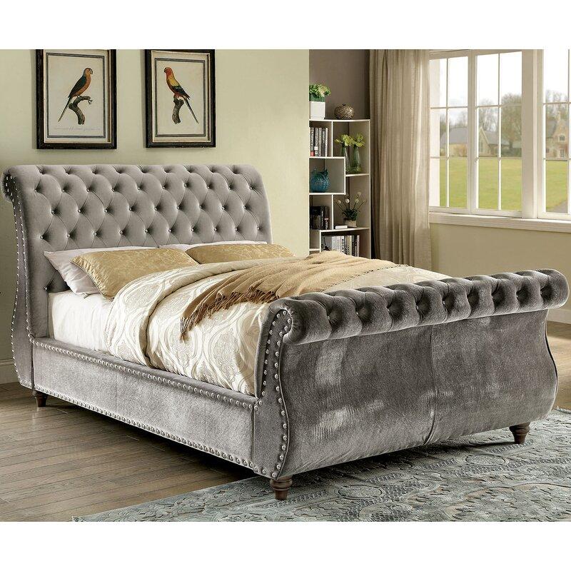 Noella Sleigh Bed King