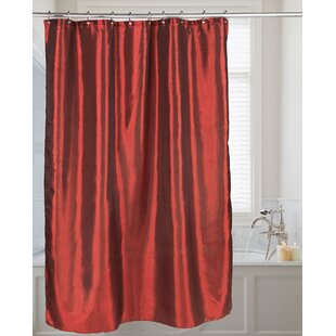 Highgate Faux Silk Single Shower Curtain
