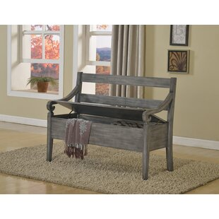 Save  sc 1 st  Wayfair & High Back Storage Bench | Wayfair