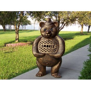 Marvelous Smokee Bear Aluminum Wood Burning Chiminea