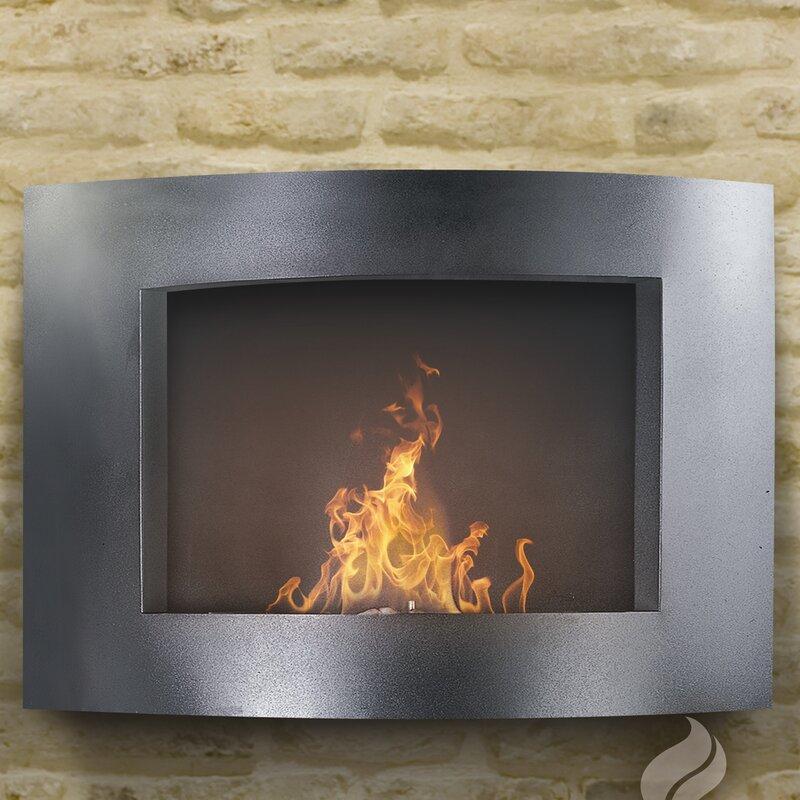 Pureflame Wall Mounted Ethanol Fireplace