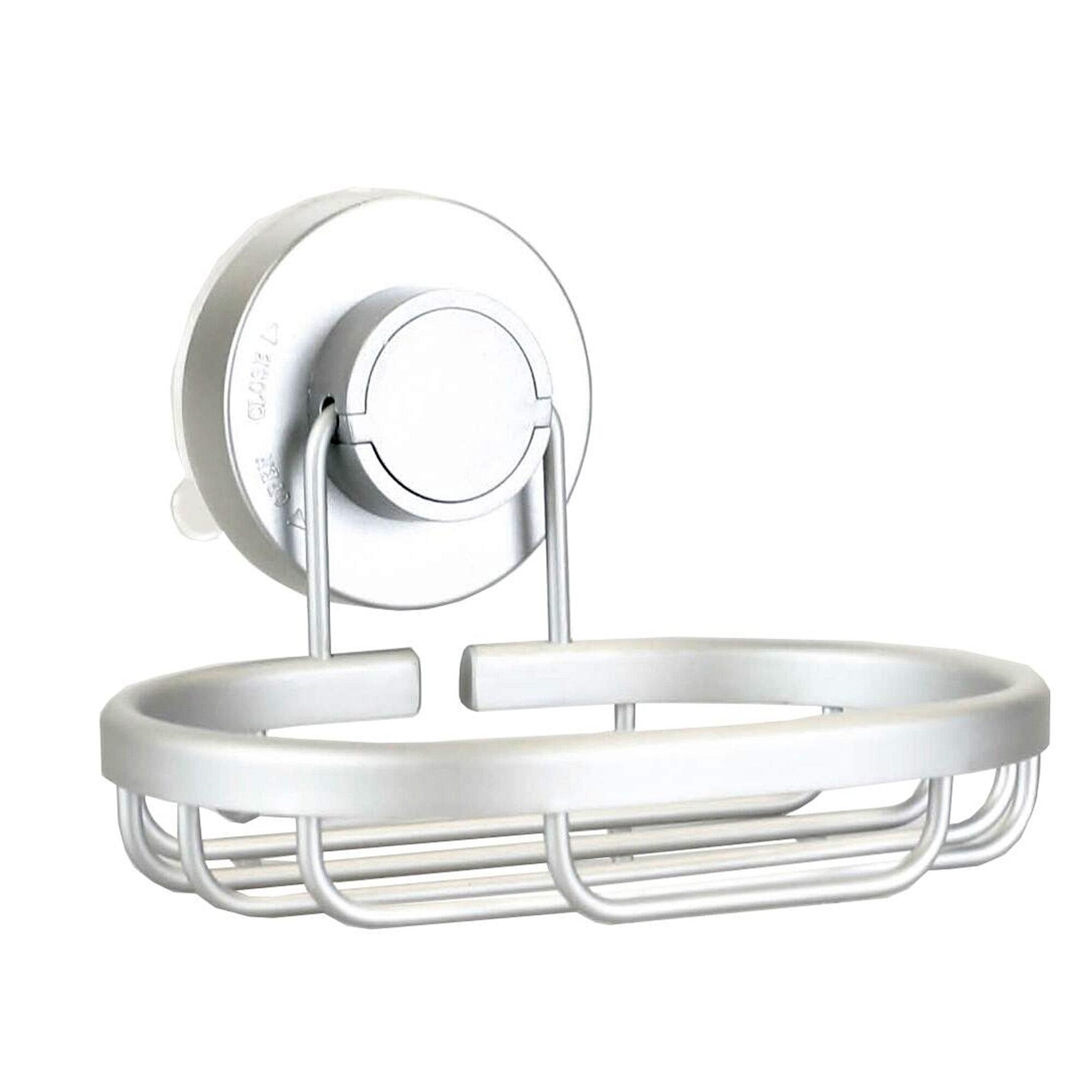 Rebrilliant Callicoat Twist N Lock Suction Cup Bathroom Soap Dish ...