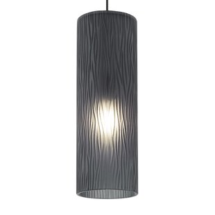 Monorail pendant lighting wayfair cylinder akari 1 light monorail pendant aloadofball Image collections