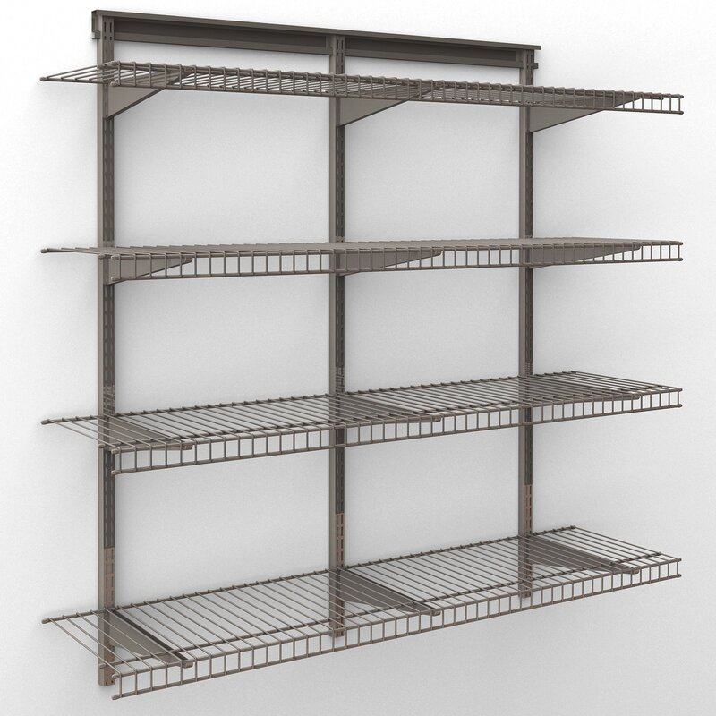 ShelfTrack 48 W Wall Shelf