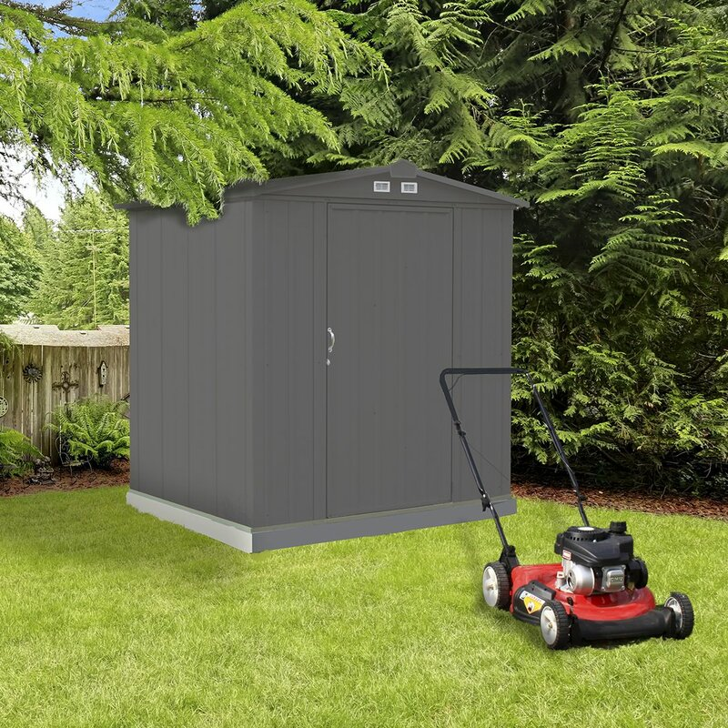 Arrow Ezee 6 Ft X 5 Ft Steel Storage Shed Amp Reviews