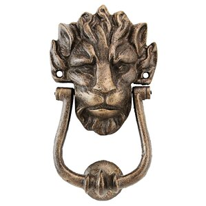 10 downing street lion authentic foundry door knocker
