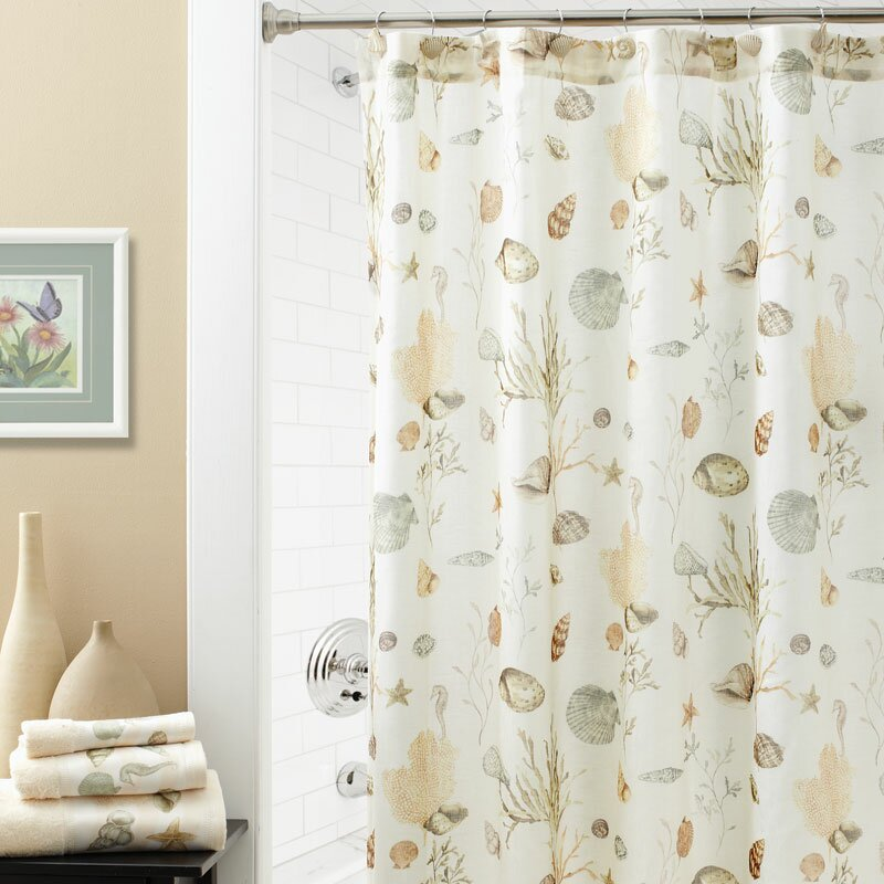 Beach & Nautical Shower Curtains