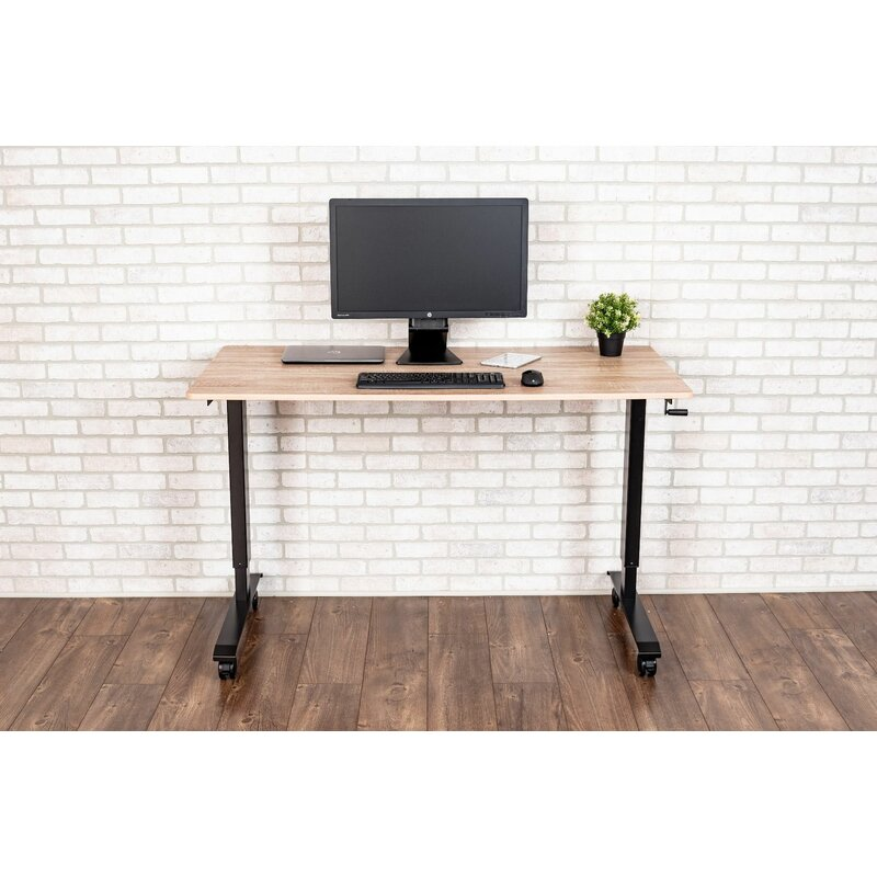 Burriss High Speed Crank Height Adjustable Standing Desk