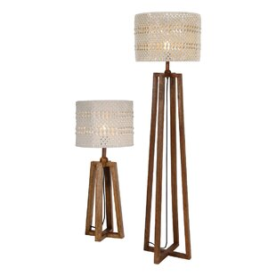 Devyn 2 Piece Table and Floor L& Set  sc 1 st  Wayfair & Table And Floor Lamp Sets | Wayfair.co.uk