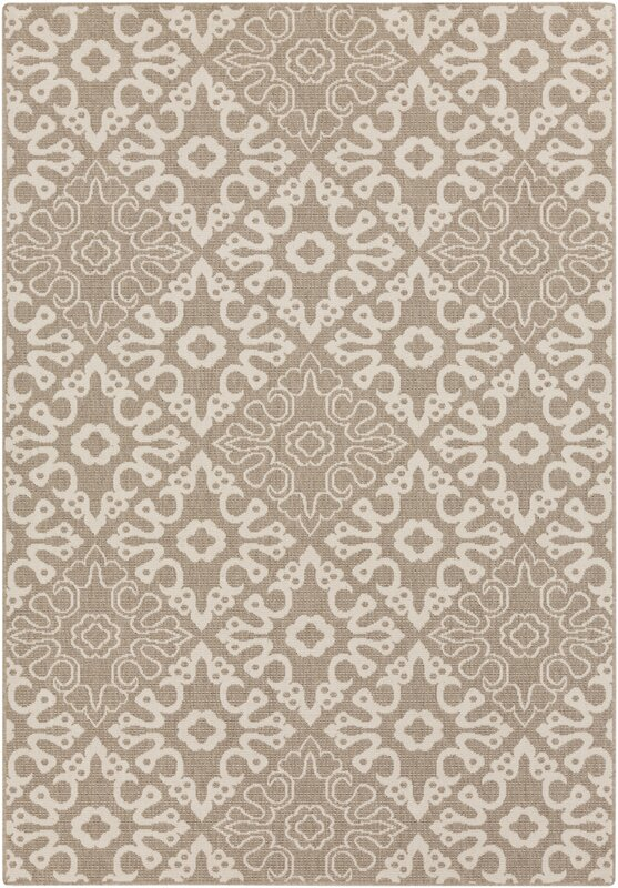 Lydia Natural Indoor/Outdoor Rug & Reviews | Birch Lane