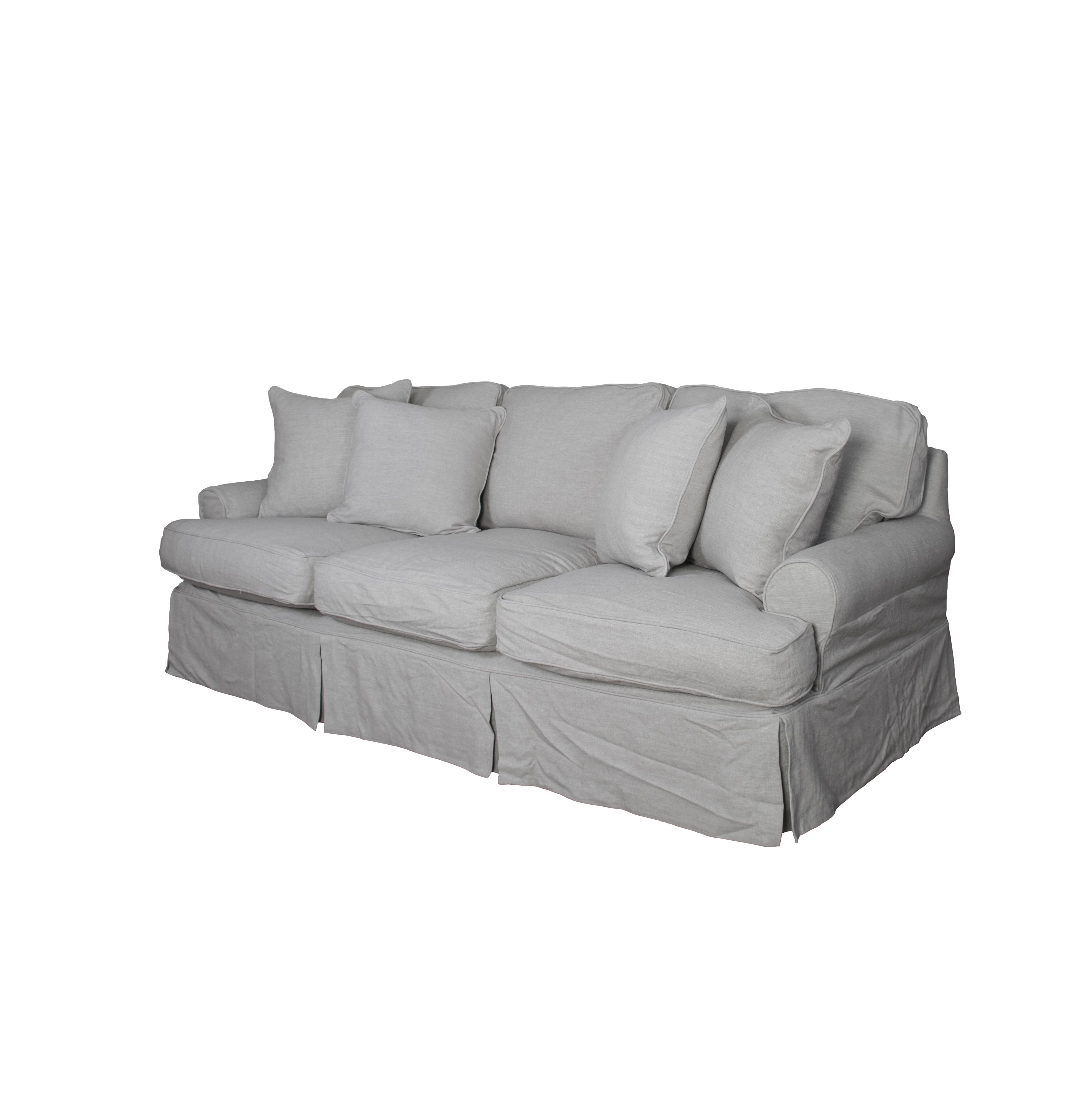 August Grove Callie T Cushion Sofa Slipcover