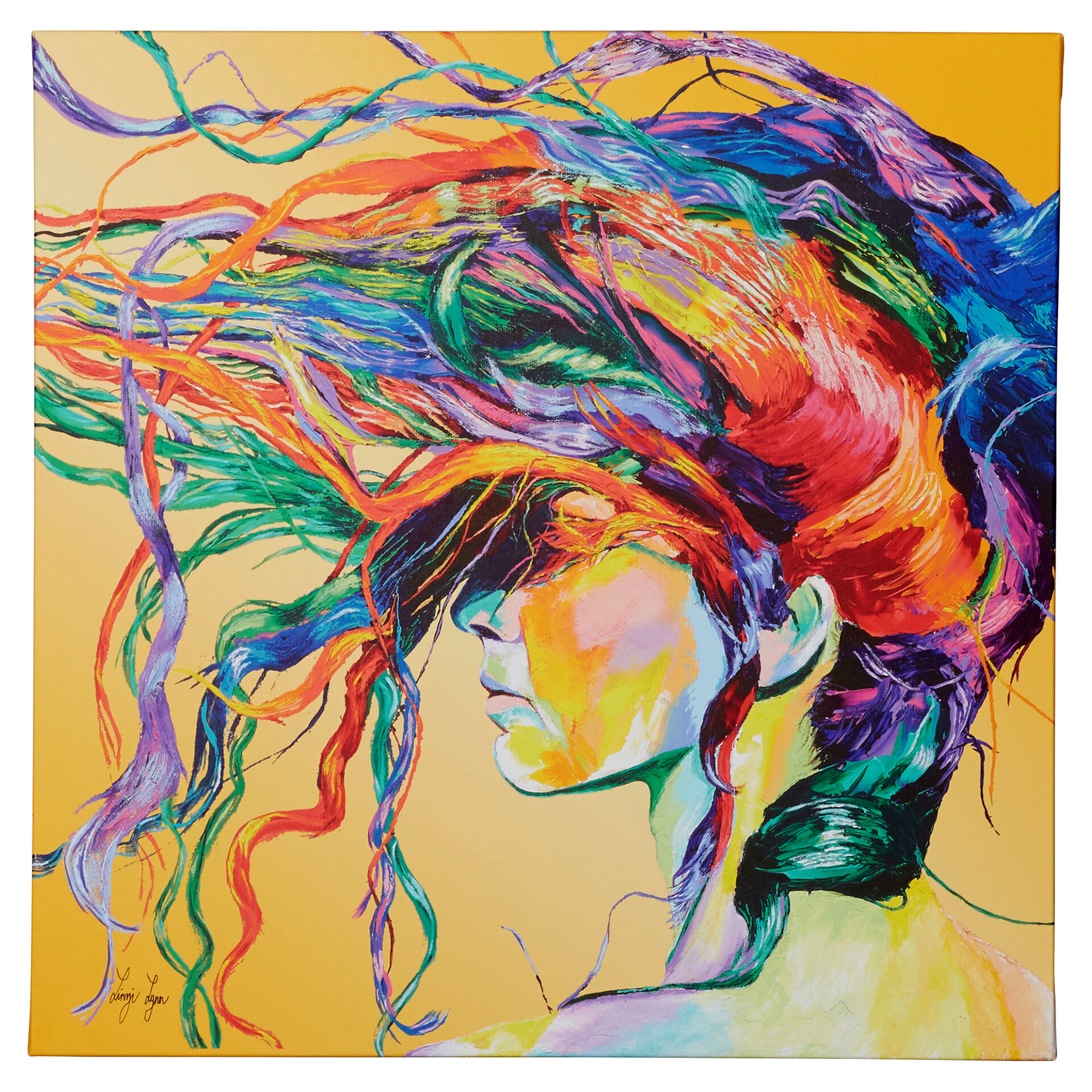 Windswept Framed Graphic Art Print On Canvas & Reviews -