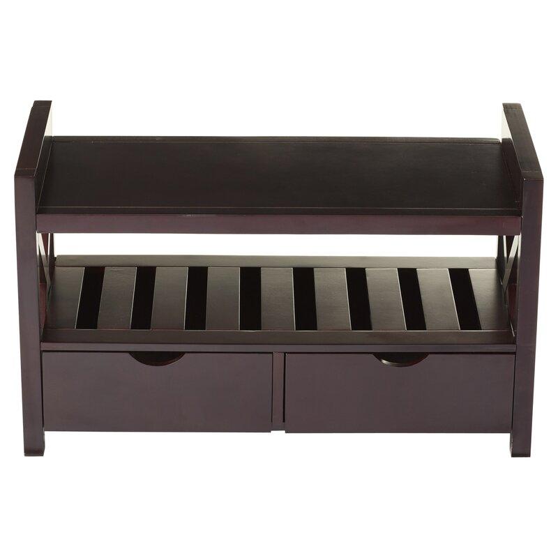 Andover Mills Cyril Storage Bench Amp Reviews Wayfair Ca