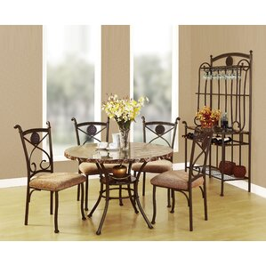 Delightful Stella 5 Piece Dining Set