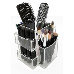 773d59f28b0e Rotating Makeup Brush Holder | Wayfair