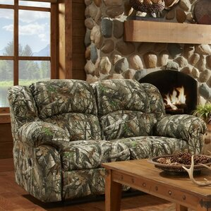 Giono Reclining Loveseat by Loon Peak