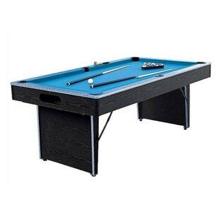 Folding Non Slate 7 4 Pool Table