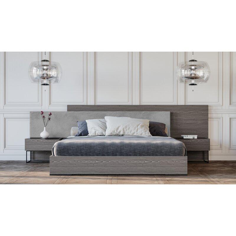 . Mraz Platform 2 Piece Bedroom Set