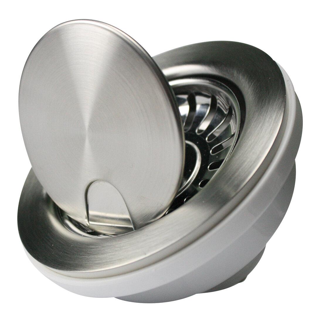Nantucket Sinks Premium Basket Strainer Kitchen Sink Drain & Reviews ...