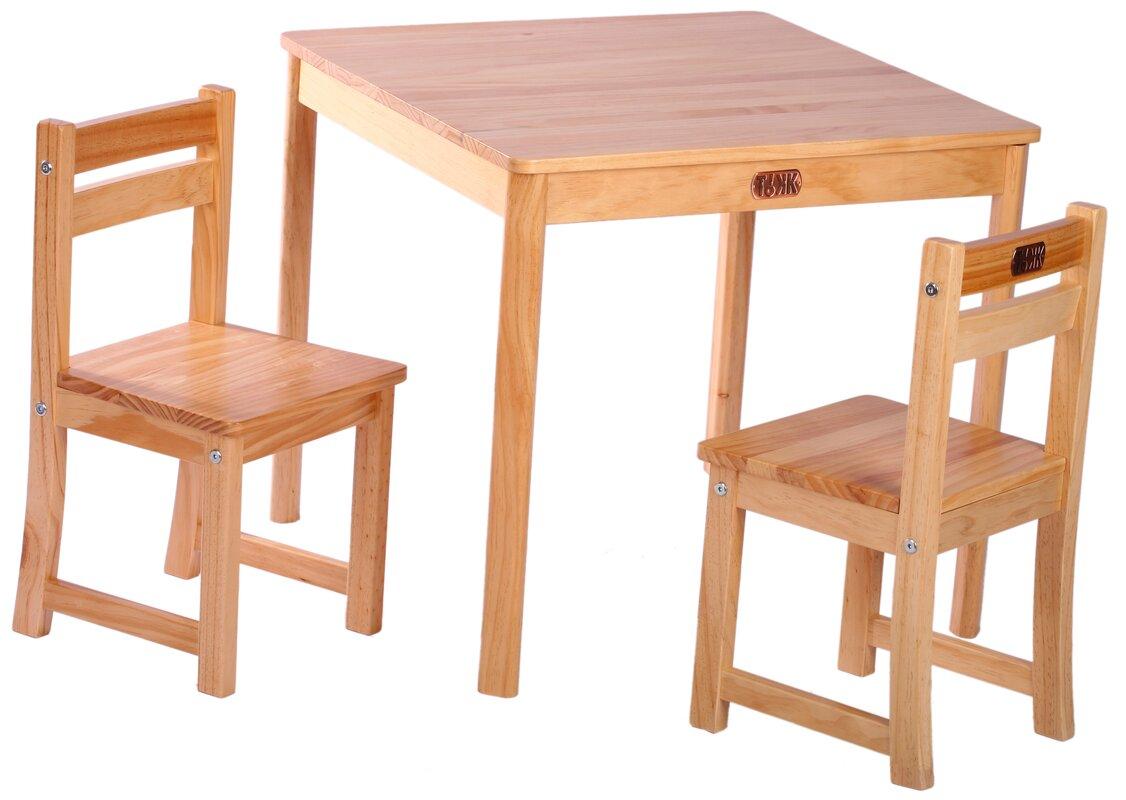 tikk tokk 3 tlg tisch und stuhl set boss bewertungen. Black Bedroom Furniture Sets. Home Design Ideas
