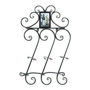 Flourish 3 Bottle Wall Mounted Wine Rack by Zingz & Thingz