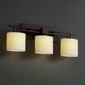 CandleAria Aero 3 Light Bath Vanity Light