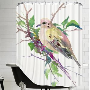 Mouring Dove Shower Curtain