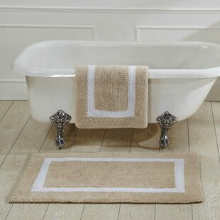 Bath Rugs & Bath Mats You'll | Wayfair Elegant Flowers Design Bathroom Rug Set Html on