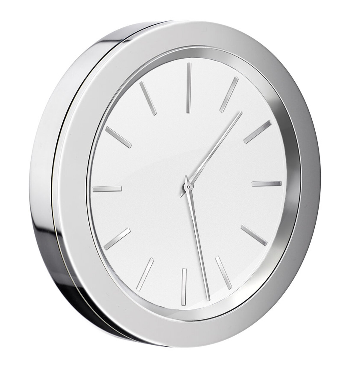 Smedbo Self Adhesive Bathroom Mirror Wall Clock | Wayfair