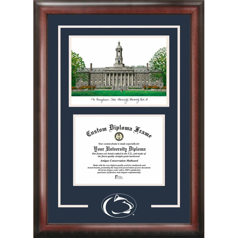Campus Images NCAA Spirit Graduate Diploma Picture Frame & Reviews ...