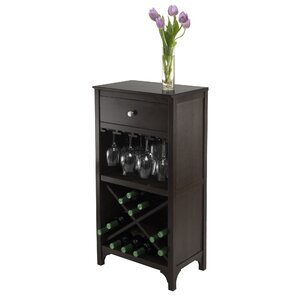 Mackenzie 20 Bottle Floor Wine Rack by Darby Home Co