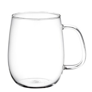 Unitea 17.3 oz. Glass Large Cup (Set of 2)