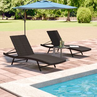 Varley Chaise Lounge (Set of 2) & Outdoor Lounge Chairs Youu0027ll Love | Wayfair