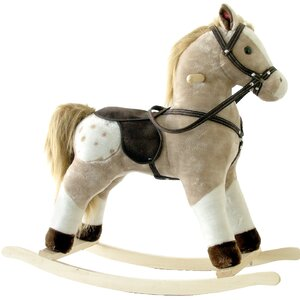 Small Plush Rocking Horse