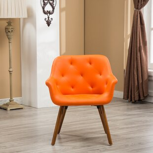 Excellent Orange Accent Chair Exterior