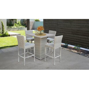 Macy 5 Piece Pub Table Set