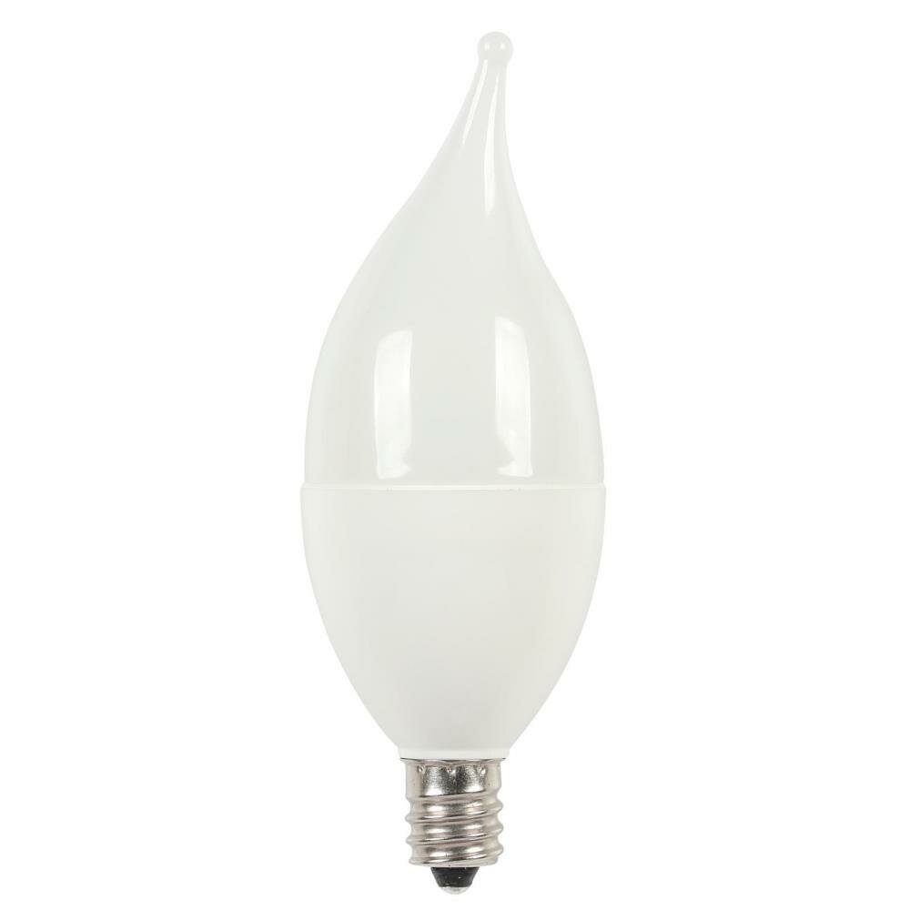 3512200 5 Watt 40 Equivalent C11 Led Non Dimmable Light Bulb Warm White 2700k E12 Base